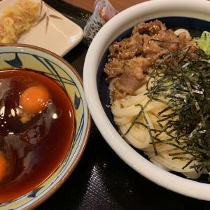 肉つけうどん★丸亀製麺