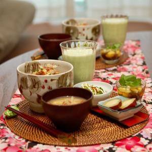 朝食*ねこまんまご飯、もずく酢トマト*6月からの保育園どうする問題