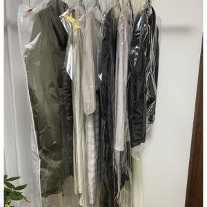 【1日20分の片づけ習慣】クリーニングに出した服、カバーをつけたまま収納してませんか?