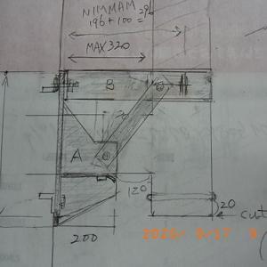 TN20眼鏡石設置工事(3)〔強化眼鏡板作製)