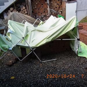 タープテント修理