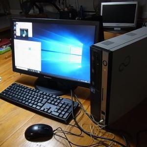 ビジネスデスクトップ  D750/A をSSDに換装する(手順)