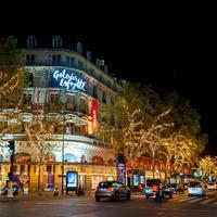 ギャラリー・ラファイエットが2020年クリスマス装飾を開始、仏はロックダウンでパリの店舗は閉じたまま