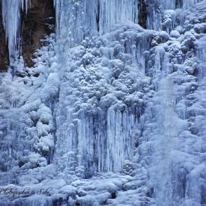 古閑の滝 全面氷結 その2