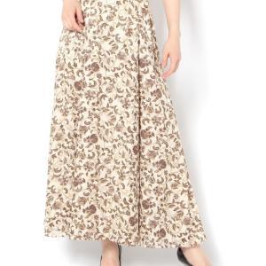 秋でもOK GALLARDAGALANTE サラサカットジャガードスカート