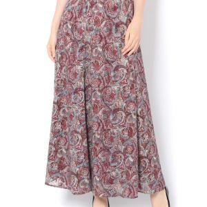またまた GALLARDAGALANTE エスニックなカットジャガードスカート