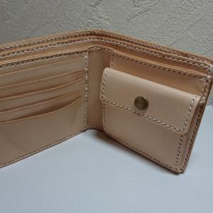 二つ折り財布④ 完成