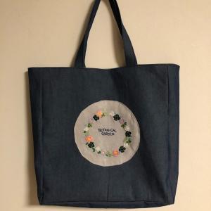 生徒さん作品がバッグに。