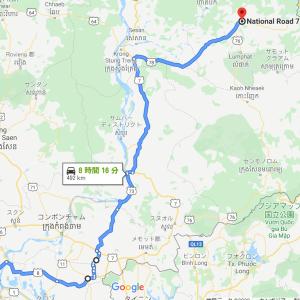 Stung Treng(ステントレン州)、Ratanakiri(ラタナキリ州)へ