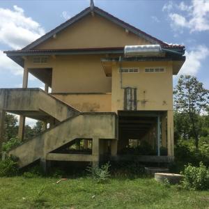 カンボジアの建物