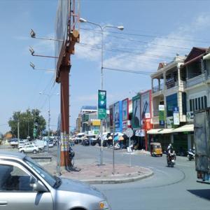 カンボジアの停電