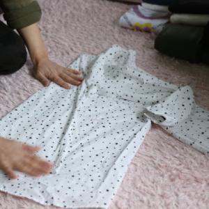 Before→After画像:衣類のお片づけ【Aさん宅のモニターレッスン】