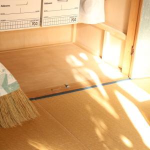 時間の空いた午後。。。一番やりたいのはお掃除でした☆
