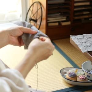 奈良「円ら」へ、刺し子をお届けするために。。。