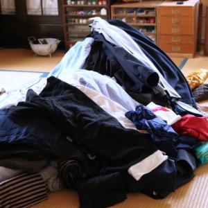 まずはぜひ一度、衣類を全て一箇所に出してみてください!