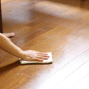 お家と仲良くなるには、床を磨く。