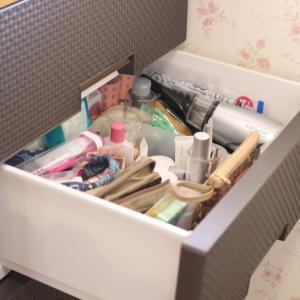 〜化粧品類のお片づけ〜 スキンケア用品とメイク用品は別収納
