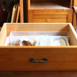 台所のお片づけ:食べる道具はカトラリーも含みます