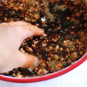 発酵調味料:醤(ひしお)を仕込む