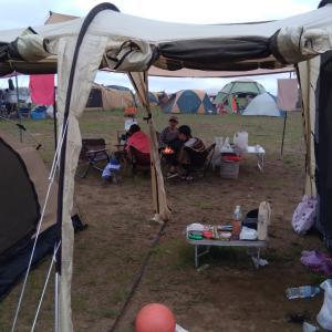 女だけキャンプ