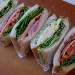 いつかのサンドイッチ弁当。