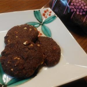 塩チョコナッツクッキー