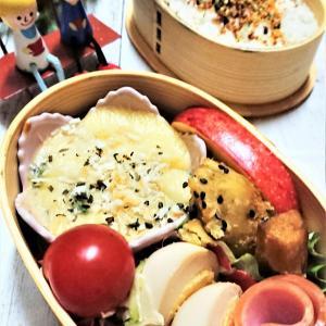 【息子弁当】念願通り!【グラタン弁当】お弁当にグラタン入れるとき!?