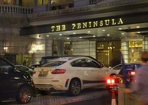 本場香港のペニンシュラでアフタヌーンティ。予約方法を確認しておくべきでした。