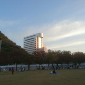 19○11月10日【天神中央公園から百道まで応援ランしてみよう】