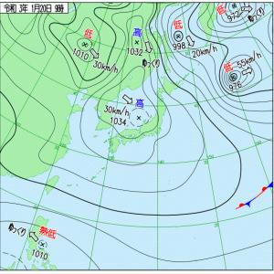 21@01月20日【大きい高気圧が来ると……。】