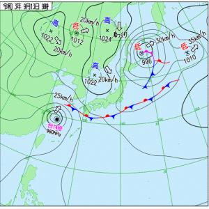 21@09月13日  九州北部と台風14号 長く降る雨に注意
