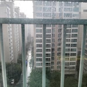 雹と人工の雨