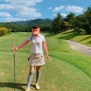 初めての関西ゴルフ。