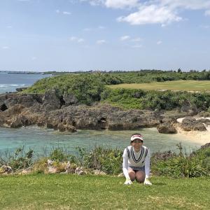 宮古島2日目。ゴルフ→サンセットBBQ