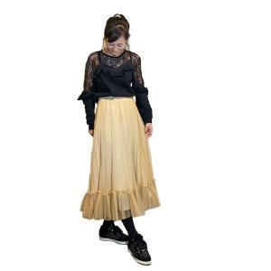 旅行の定番スタイルは、楽ちんロングスカート