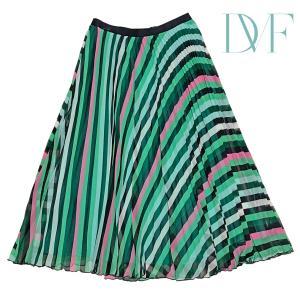DVF インパクト系ロングプリーツスカートのご紹介