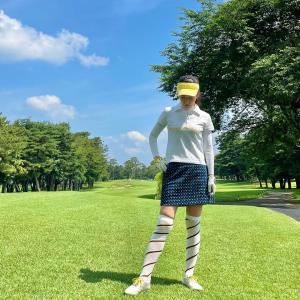 名門我孫子ゴルフ倶楽部のゴルフウェアコーディネート