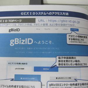 gBizIDプライムを取得していました