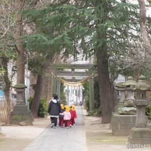 地元に愛される香取神社