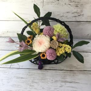お供えの花(プリザーブド)