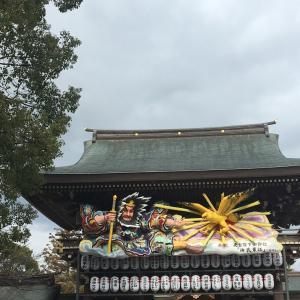 寒川神社にて