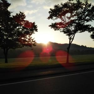土曜日は早朝ジョグ22K