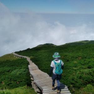 鳥取へ大山登山