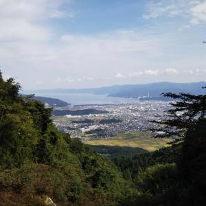 連休2日目は敦賀富士の野坂岳