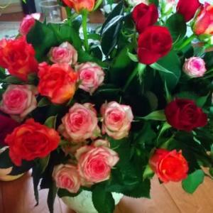 愛を込めた花束