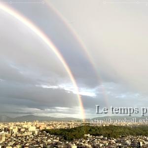 雨上がりの綺麗な『虹』:未来はとっても幸せそう~!