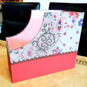 自宅レッスン☆『書類BOX』と『ティッシュBOX』