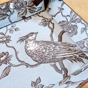生徒さんの作品紹介☆リボントレイ『紅茶のシフォンケーキ』