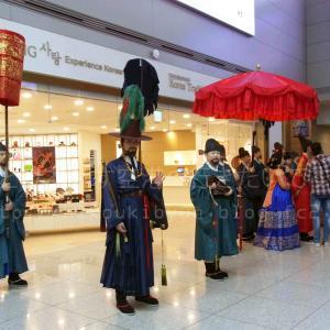 仁川空港でよく見かける。