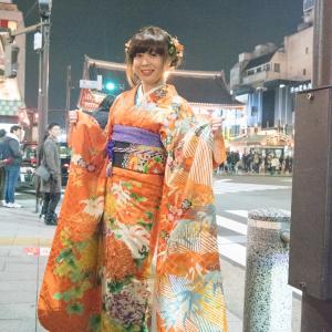 浅草寺へ初詣に行ってきました